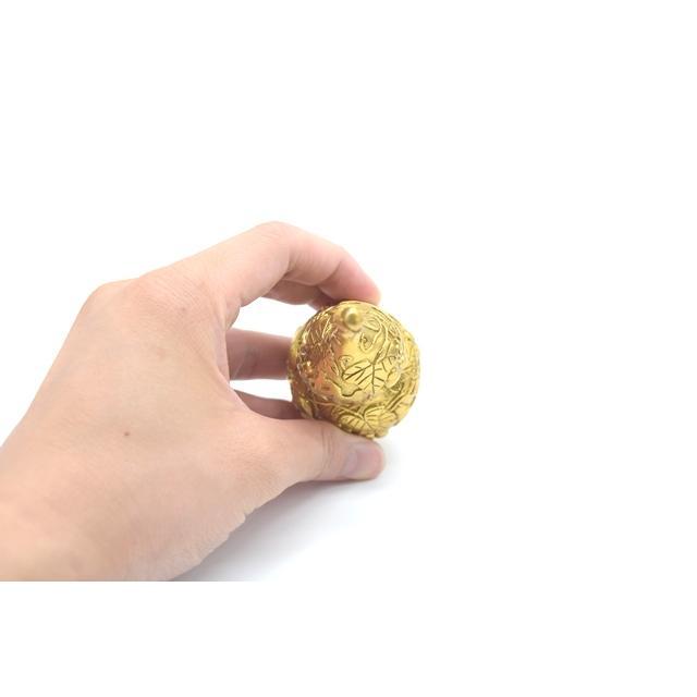 瓢箪 ひょうたん 銅製置物 健康運 蓄財 中 ryu 05