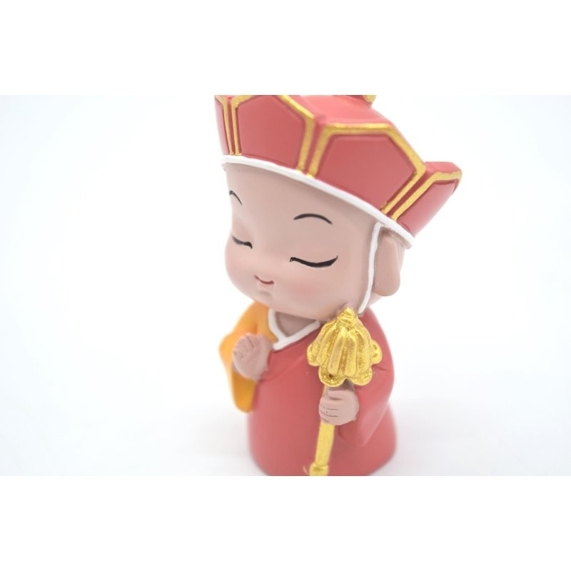 神様7柱セット 樹脂製置物 マスコット人形 関羽 財神 唐僧 文昌帝君 観音 如来 布袋 6.5cm|ryu|05