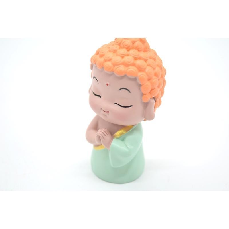 神様7柱セット 樹脂製置物 マスコット人形 関羽 財神 唐僧 文昌帝君 観音 如来 布袋 6.5cm|ryu|09