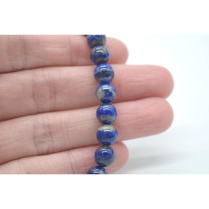 ラピスラズリ 瑠璃 天然石 パワーストーン ブレスレット アクセサリー 8mm|ryu|07