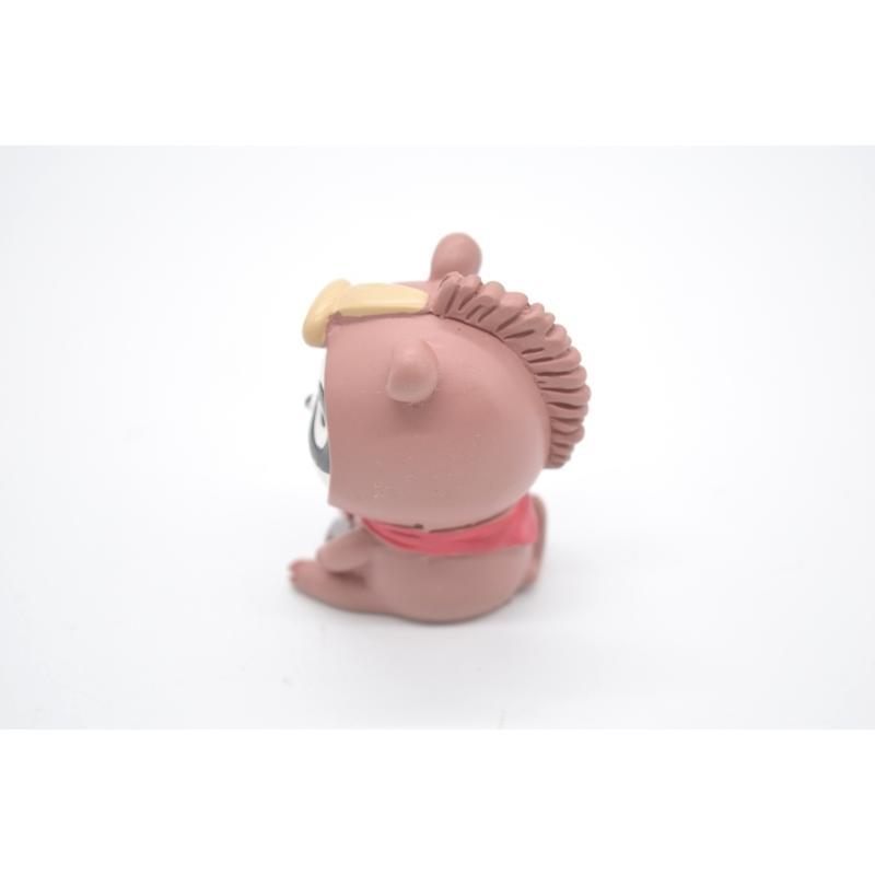 パンダ 馬の着ぐるみ 蹄鉄 マスコット人形 樹脂製置物 5.5cm|ryu|02