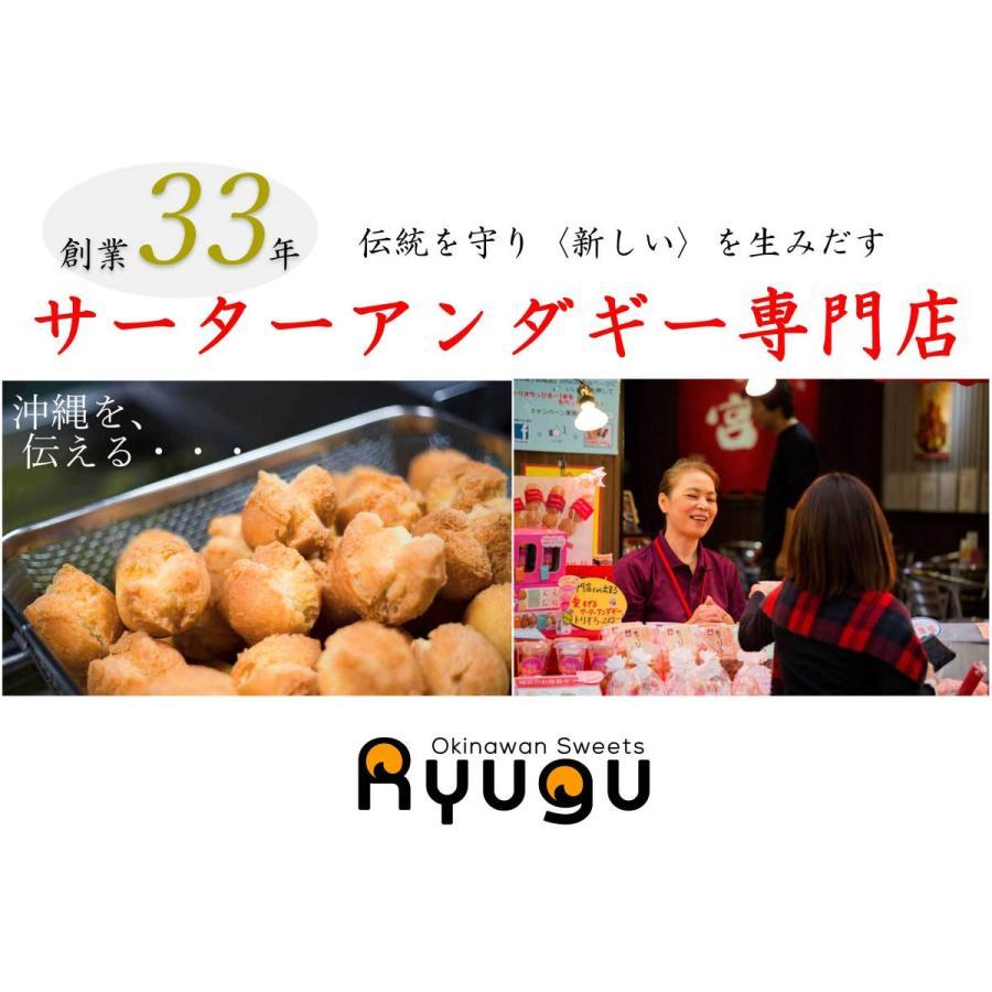 琉宮のサーターアンダギー 黒糖 大サイズ 10個入り 沖縄 ドーナツ ryugu 09