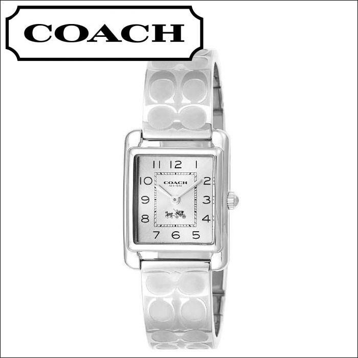 【送料無料/新品】 コーチ レディース 時計 (14502159) シルバー バングル, 一番の 6889c543