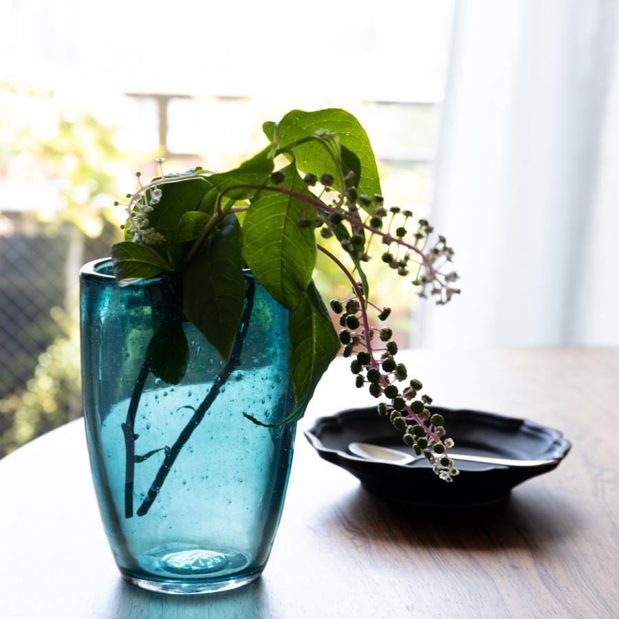 限定品 HenryDean ヘンリーディーン 人気 ジョー ガラス花瓶 花器 ジャスパー