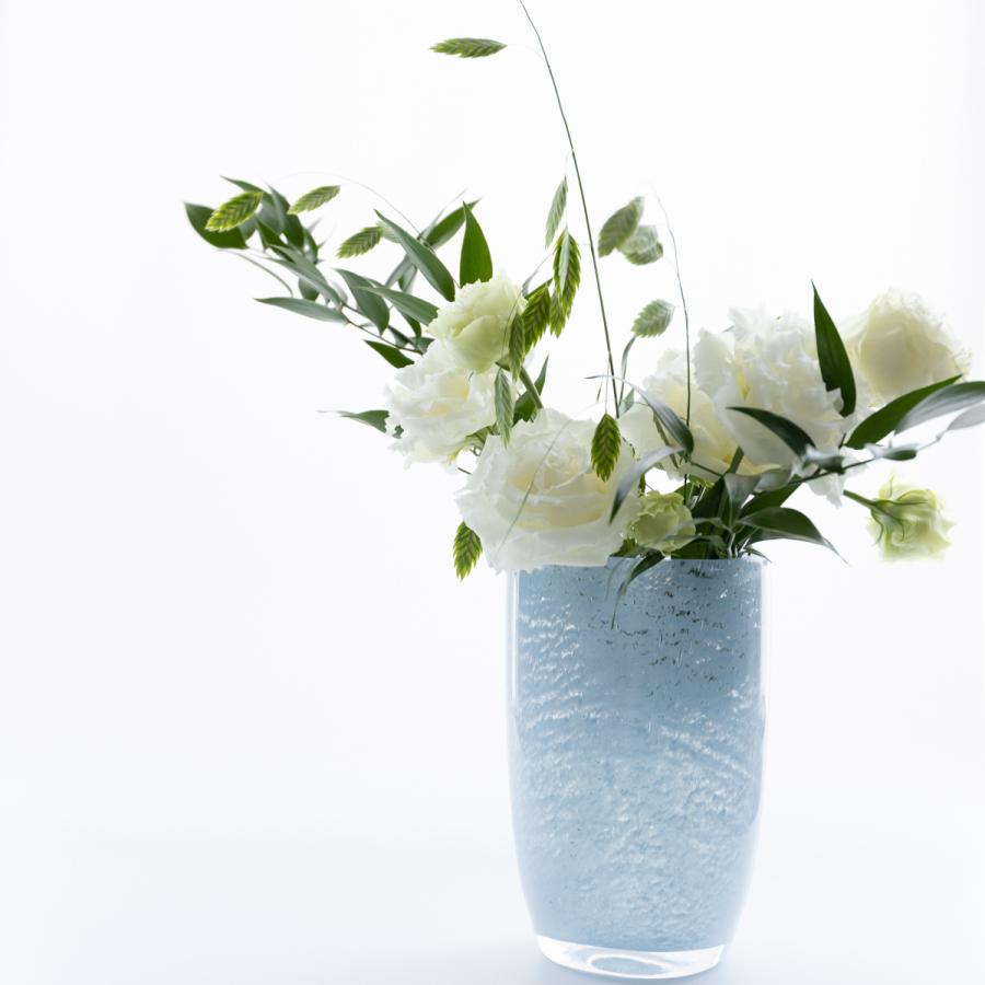 HenryDean ヘンリーディーン ジョー 新作アイテム毎日更新 花器 ガラス花瓶 春の新作シューズ満載 パステルブルー