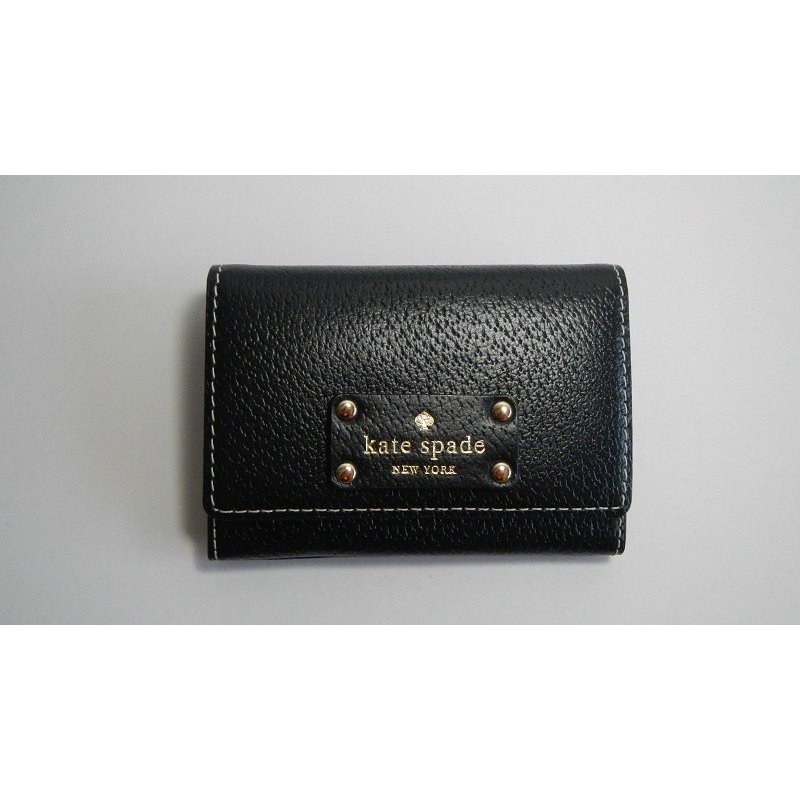 ケイトスペード ニューヨーク Kate Spade NEW YORK キーケース コインケース カードケース 黒 ブラック レザー レディース|s-doubleone