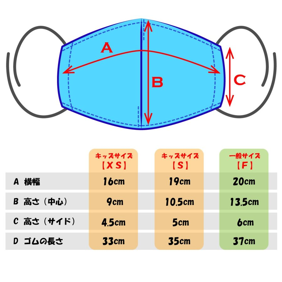 キャンバスマスク マスク 立体マスク 布マスク シルク混 キャンバス 日本製 国産 洗える おしゃれマスク 選べるサイズ 大人 子ども|s-factory-store|05