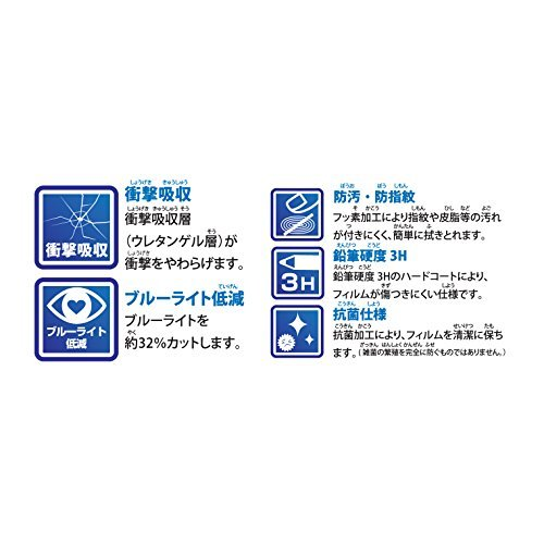 Nintendo Switch専用液晶保護フィルム 貼りつけガイド付き 衝撃吸収 s-frontier 03