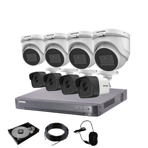防犯カメラ 屋外 屋内 500万画素 監視カメラ 選べる 8台 8ch レコーダー セット HDD3TB付属 HD-TVI FIXレンズ 赤外線カメラ 遠隔監視|s-guard|19