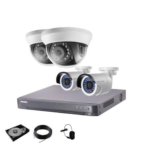 防犯カメラ 屋外 屋内 選べる 選べる 4台 4ch レコーダー セット HDD1TB付属  243万画素 HD-TVI FIXレンズ 赤外線カメラ 遠隔監視|s-guard|14