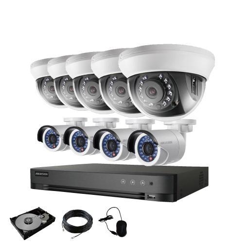 防犯カメラ 屋外 バレット 型 屋内 ドーム型 から 9台 選択 16ch レコーダーセット HDD3TB付属 監視カメラ 赤外線付き 屋内用セット 屋外用セット s-guard 17