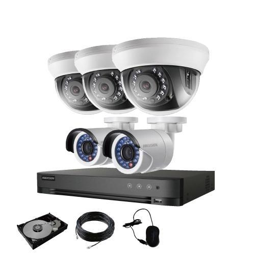 防犯カメラ 屋外 バレット 型 屋内 ドーム型 から 5台 選択 8ch レコーダーセット HDD1TB付属 監視カメラ 赤外線付き 屋内用セット 屋外用セット s-guard 17