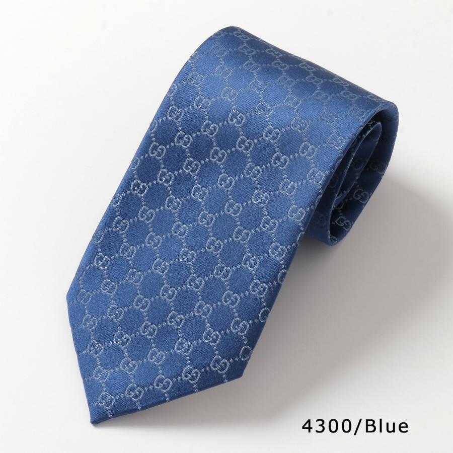 GUCCI グッチ 456520 4B002 カラー9色 イタリア製 シルクネクタイ GGロゴ メンズ|s-musee|11