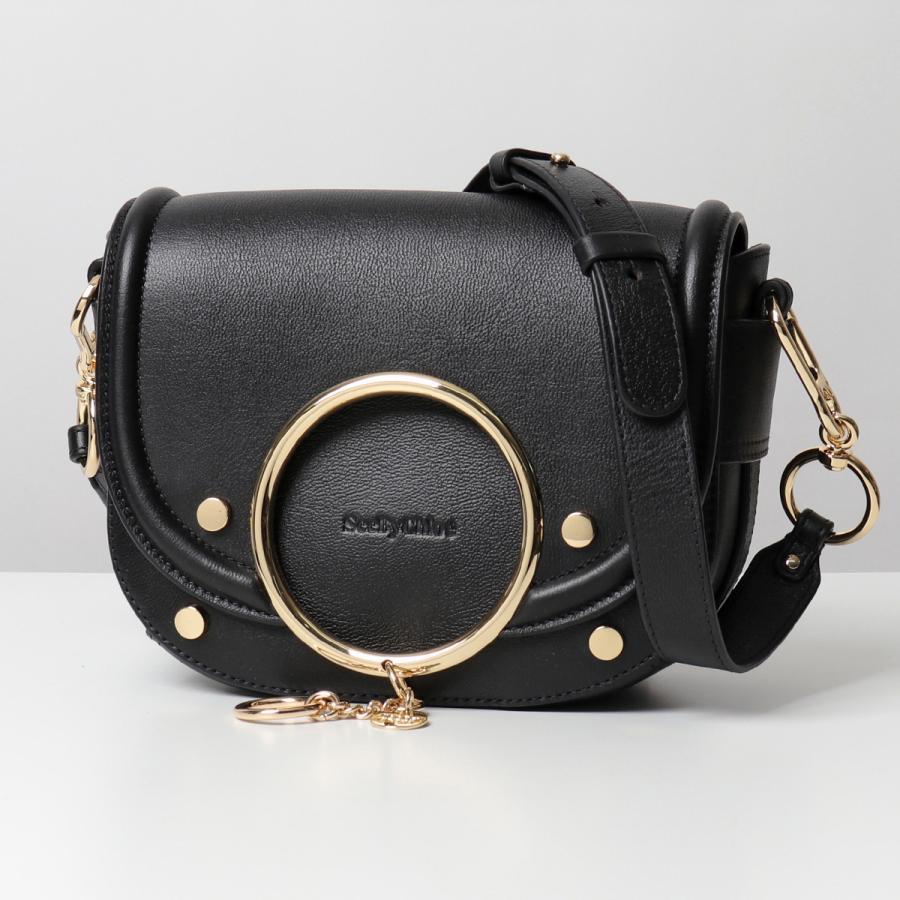 多様な See By Chloe シーバイクロエ CHS19WSA29388 MARA マラ レザー ショルダーバッグ ポシェット 001/Black 鞄 レディース, ディーラックス 6bc2c3d7