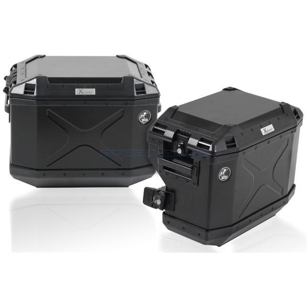 [651652-0022-01] ヘプコ&ベッカー サイドキャリア ステンレス カットアウトセット エクスプローラー付(ブラック) BMW F700GS 12-16