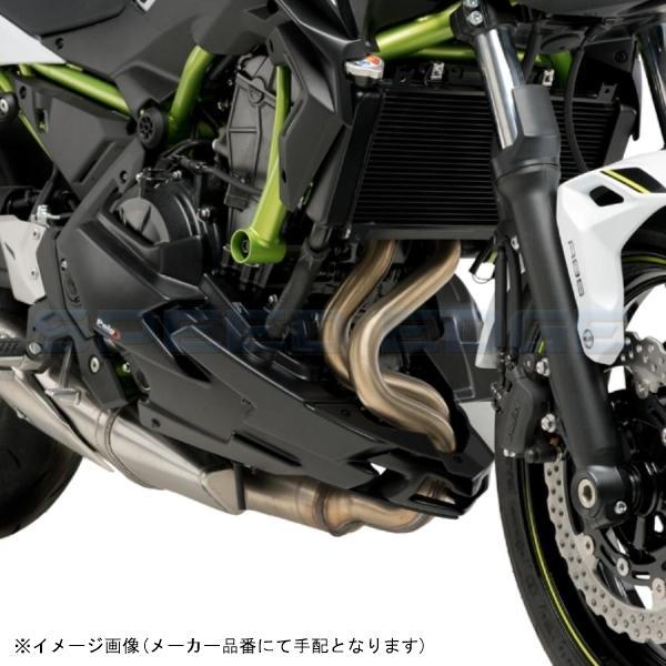 [20295J] Puig(プーチ) エンジンスポイラー マッドブラック Z650 20-