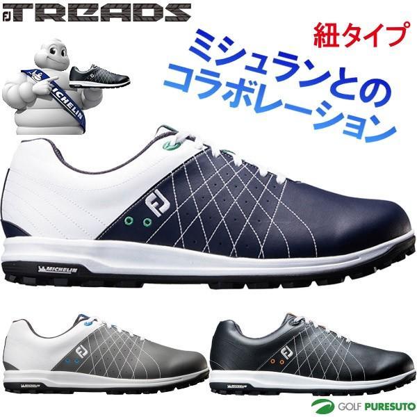 フットジョイ FJ トレッドレース スパイクレス ゴルフシューズ メンズ