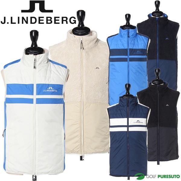 豪奢な J.リンドバーグ ゴルフ リバーシブル サーモ防風ベスト メンズ 081-48070, 【2018最新作】 227774a1