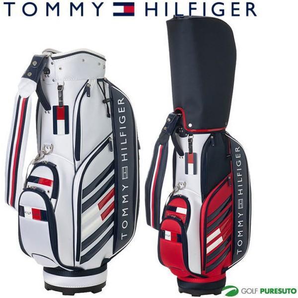 激安先着 トミー ヒルフィガー ゴルフ 9型 キャディバッグ ストライプ フラッグ THMG9SC4, ベルーナ fc61ce53