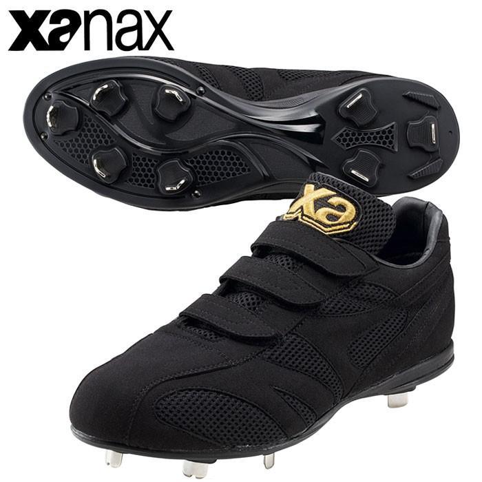 ザナックス XANAX トラスト ベルト式樹脂底スパイク BS-318CL 野球 スパイク ベロクロ シューズ 靴
