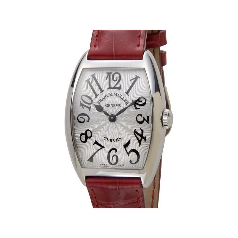 人気提案 フランクミュラー FRANCK MULLER トノーカーベックス レリーフ 7502QZ クロコダイル レディース 腕時計 新品, ライフサポート よっしー bfde06bd
