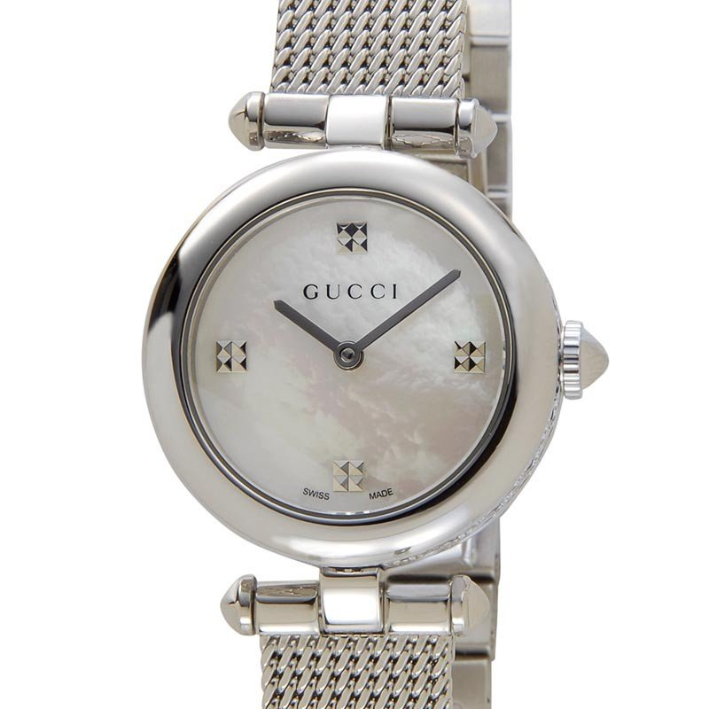 promo code 2745c 07ebc グッチ GUCCI 時計 ファッション YA141504 腕時計 Diamantissima ...
