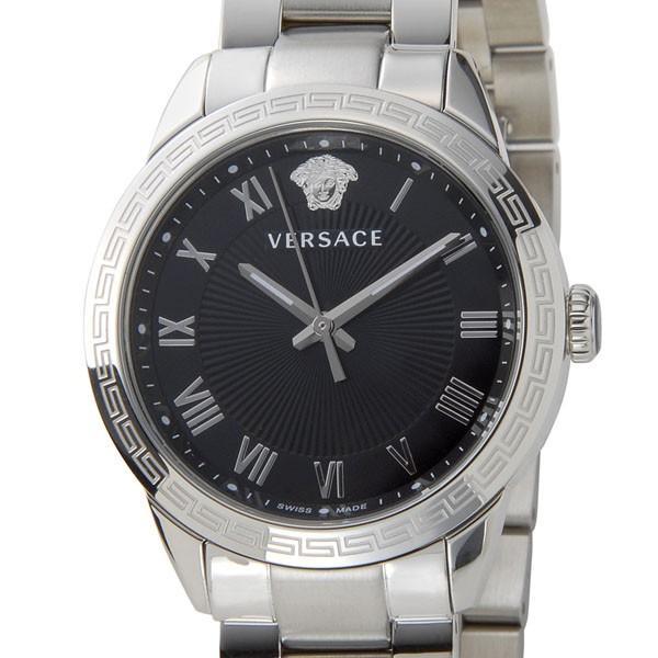 即納!最大半額! ヴェルサーチ VERSACE レディース 腕時計 レディース P6Q99FD008S099 P6Q99FD008S099 VERSACE クォーツ ブラック/シルバー, 早良区:f67982d5 --- airmodconsu.dominiotemporario.com