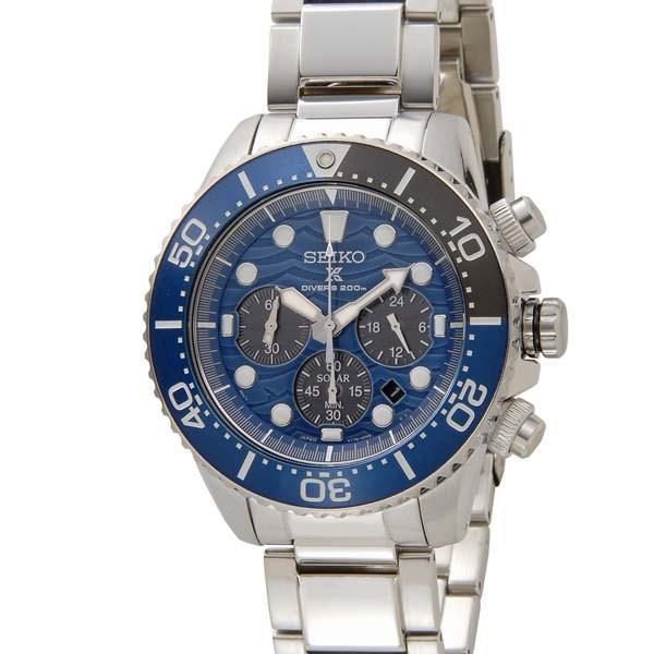 セイコー SEIKO メンズ 腕時計 SSC741P1 プロスペックス ダイバーズ 200m スペシャルエディション クロノグラフ ソーラー|s-select