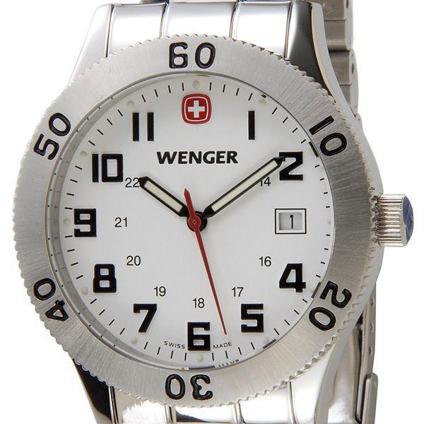 56216c0b4e ウェンガー WENGER メンズ腕時計 フィールドグレネーダー 72969 ホワイト ...