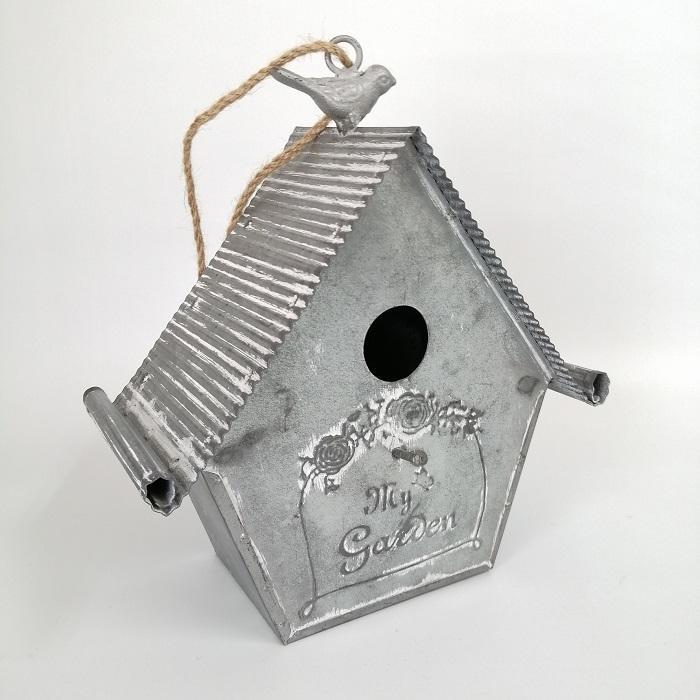 置物 庭 ガーデン オーナメント オブジェ 飾り ブリキ・ネストハング CG-OE-21|s-toolbox