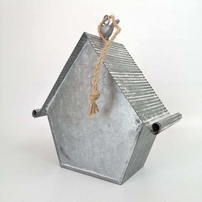 置物 庭 ガーデン オーナメント オブジェ 飾り ブリキ・ネストハング CG-OE-21|s-toolbox|04