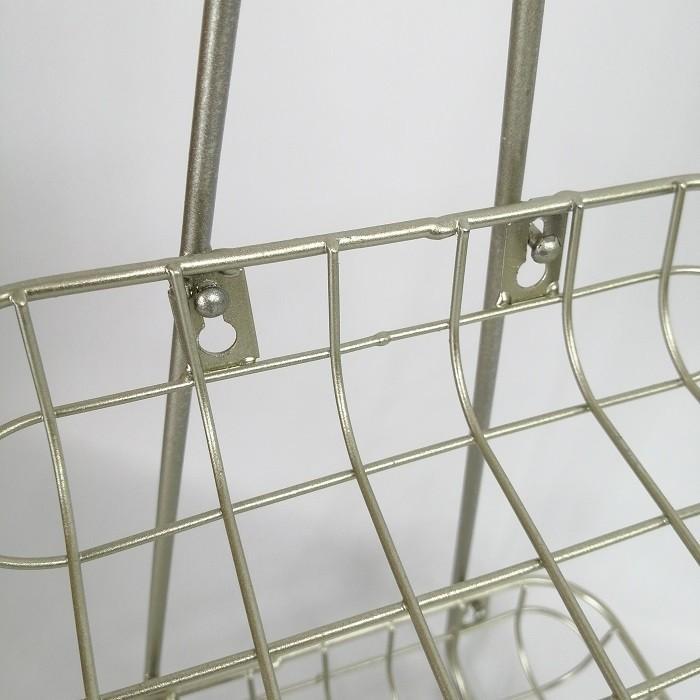 フラワースタンド 花台 アイアン ラック  ガーデニング雑貨 ジェルミ・ツーティアトレイ CG-US-18|s-toolbox|04