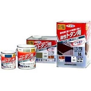 トタン用 こげ茶 14L〔代引不可〕佐川急便で発送します