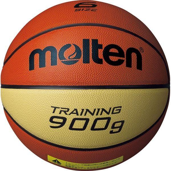 〔モルテン Molten〕 トレーニング用 バスケットボール 〔6号球〕 約900g 天然皮革 9090 B6C9090 〔運動 スポーツ用品〕佐川急便で発送します