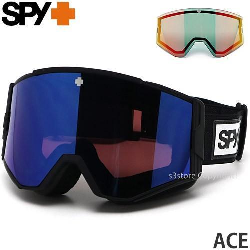 20model スパイ エース SPY ACE スノボ ゴーグル ASIAFIT 国内正規 FRAMEカラー:MBK LENSカラー:HD+ ROSE W/DARKBL SPECTRA MIRROR