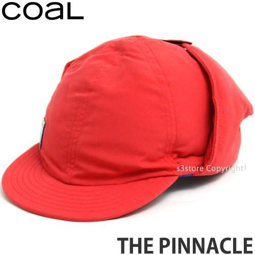 コール ザ ピナクル coal The Pinnacle 帽子 キャップ ヘッドウェア コーデ タウンユース 防寒 イアーフラップ 耳当て カラー:Coral