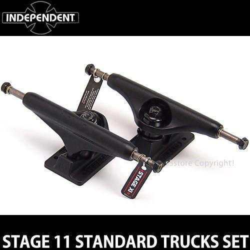 インディペンデント スタンダード トラック セット INDEPENDENT ST11 STANDARD TRUCKS SET スケート スケボー カラー:BlkOT サイズ:149Std