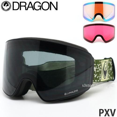 19model ドラゴン ピーエックスブイ DRAGON PXV ゴーグル スノーボード ルーマ パノテック フレームカラー:Scribe レンズカラー:Dark Smoke