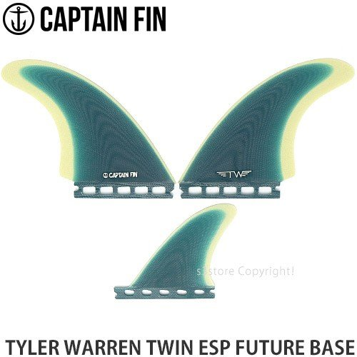 キャプテン フィン フューチャー CAPTAIN FIN TYLER WARREN TWIN ESP FUTURE BASE サーフィン ショートボード Col:Turquoise Size:5.51