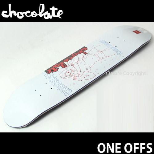 チョコレート ワン オフ CHOCOLATE ONE OFFS スケートボード デッキ 板 シグネチャー プロ ストリート 国内正規品 カラー:R.ターシェイ サイズ:7.875×31.25