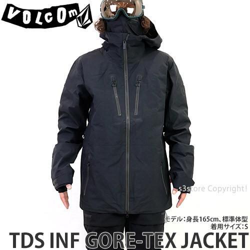 【お買得!】 19model ボルコム ゴアテックス ジャケット VOLCOM TDS INF GORE-TEX JACKET 18-19 スノーボード スノボ スノーウェア メンズ カラー:Black, ハルキス 2356ae8c