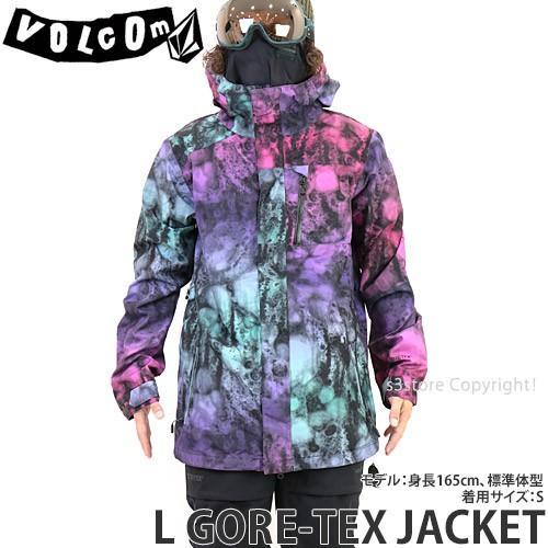 19model ボルコム エル ゴアテックス ジャケット VOLCOM L GORE-TEX JACKET 18-19 スノーボード スノボ スノーウェア メンズ カラー:Mix