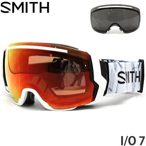 18model スミス アイ/オー セブン ゴーグル SMITH I/O 7 スノーボード フレームカラー:SAGE AC レンズカラー:CP SUN 緑 MIRROR