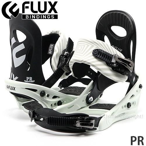 19model フラックス ピーアール FLUX PR スノーボード ビンディング バインディング メンズ SNOWBOARD BINDING MENS カラー:黒/白い
