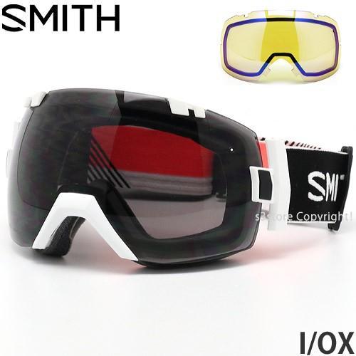 19model スミス アイ/オーエックス SMITH I/OX ゴーグル スノー フレームカラー:STRIKE レンズカラー:CHROMAPOP SUN 黒