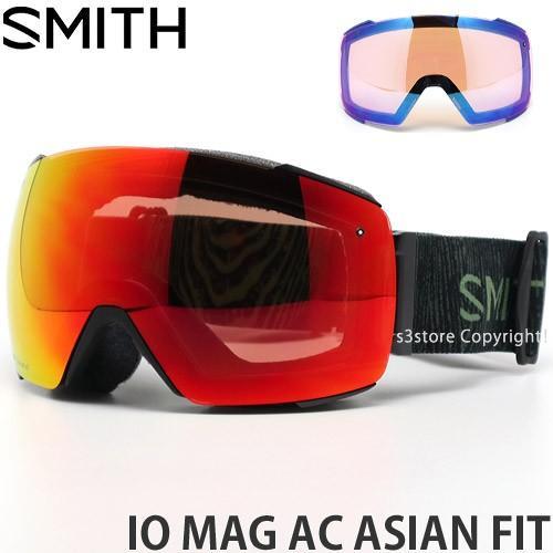 19model スミス アイ/オー マグ アジアンフィット SMITH I/O MAG AC ASIAN FIT フレーム:JAKE BLAUVELT レンズ:CP EVERYDAY 赤 MIRROR