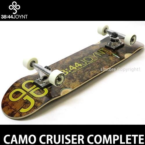 ジョイント クルーザー コンプリート JOYNT CAMO CRUISER スケートボード スケボー 完成品 初心者 SKATE カラー:TEAM 2 サイズ:7.75×31.5