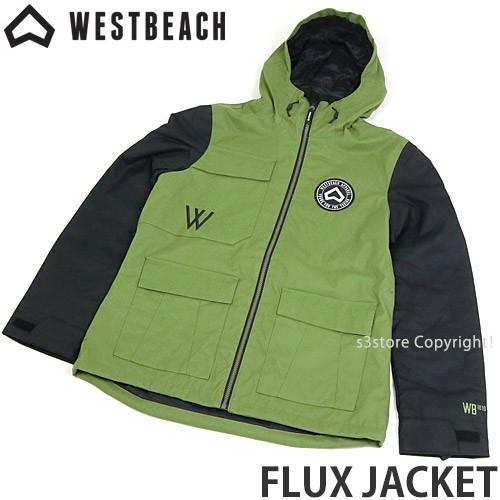 ウエストビーチ フラックス ジャケット WESTBEACH FLUX JACKET 国内正規品 スノーボード レディース 女性 ウエア SNOW カラー:Combat 緑