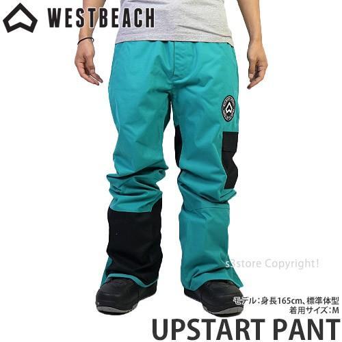 ウエストビーチ アップスタート パンツ WESTBEACH UPSTART PANT 国内正規品 スノーボード メンズ ウエア ボトム SNOW カラー:Dark Teal