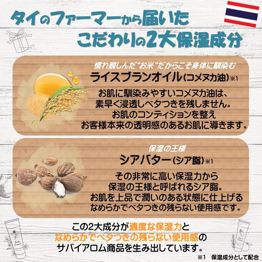 サバイアロム(Sabai-arom) マンゴー オーチャード ハンドクリーム 75g【MAN】【004】|sabai-arom-store|04